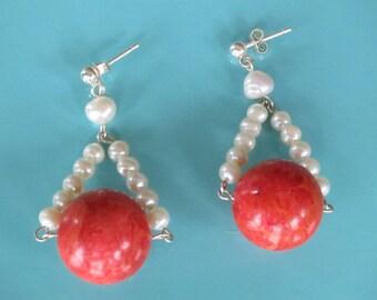Persimmon Earrings