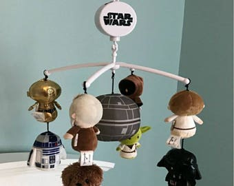 Custom Star Wars baby mobile, Price is per character, FREE SHIPPING!!!