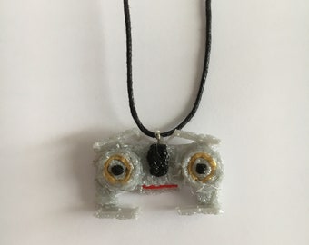 Johnny 5 cotton necklace handmade