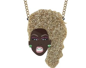 Ru Paul necklace