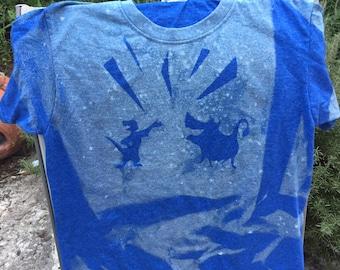 Lion King - Inspired Bleach Art Shirt