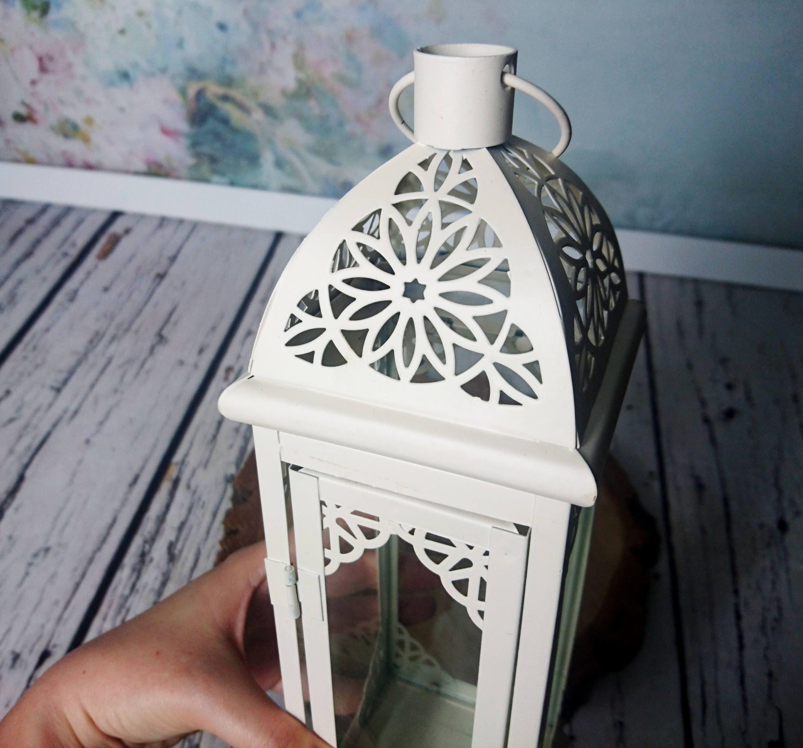Moroccan candle lantern Rustic vintage wedding centerpiece party ...