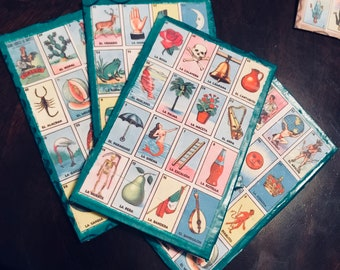 Hand/Home - made Loteria Cards