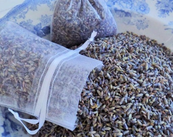LAVENDER for the Home, Sachet Kit, Dried Lavender Buds, DIY Lavender Sachets, Aromatherapy, Lavender Potpourri, Gifts, Lavender Water recipe