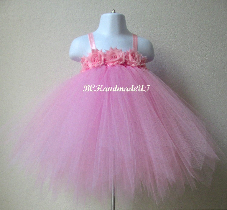 Pink fairy tutu dress pink fairy tutu baby fairy tutu dress