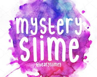 Mystery Slime (Scented, 8oz)