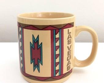 Vintage 1987 Las Vegas Southwest Mug