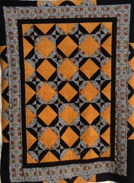 TASTE OF AUSTRALIA  Beautiful Handmade Lap Quilt