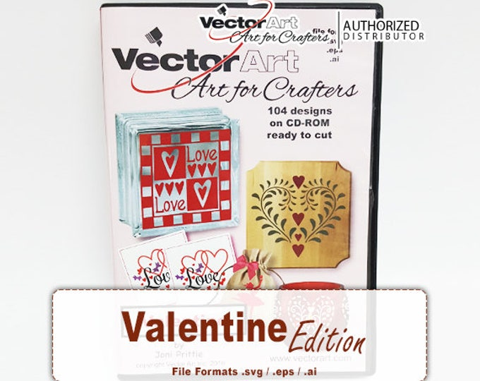 Valentine Edition / Vector Art Crafters Artwork CD