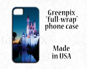 Disney Cinderella Castle iPhone case, Disney iPhone X case. Disney iPhone 8 case, Disney iPhone 7 case, Disney iPhone 6 case, 8 Plus, 7 Plus