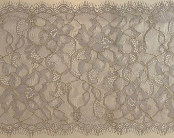 Red lace couture - 150cm x 17cm