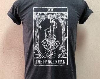 Tarot cards The Hanged man Tshirt mens and womens clothing