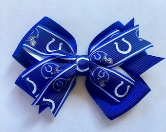 Indianapolis Colts Hair Bow