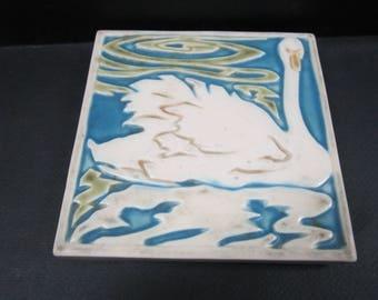 rookwood trivet art pottery tile