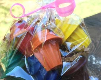 Shopkins PARTY FAVOR Crayons // Shopkins Cupcake // Crayon Goodie Bag // Personalized Gift // Cupcake Crayons // Cupcake Favors // Cupcakes