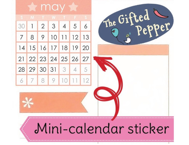 calendar full year