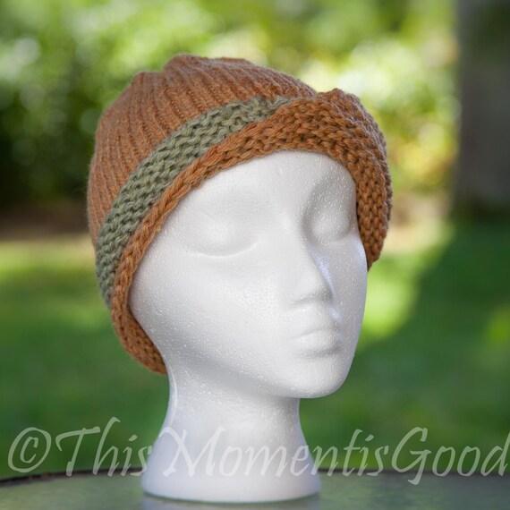 Vintage Style Knit Hat Loom