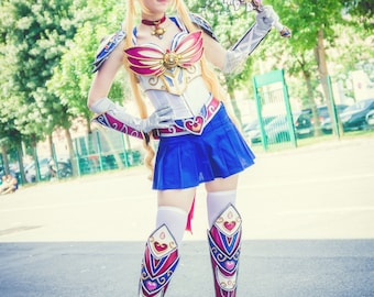 Print from Sailor Moon in armor