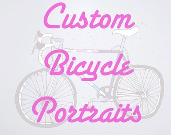 Custom Bike Portrait