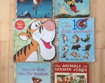 Set of Twelve Vintage Childrens Books