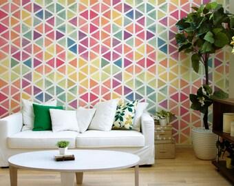 Temporary Wallpaper, Removable Wall Decor, Peel and Stick Wallpaper, Fabric Wallpaper, Removable, Wall Paper Removable, Wallpaper - A157