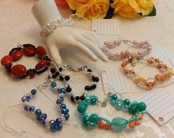 Bracelets Handmade Assorted Color's B#502 A-G