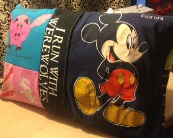 Custom 'made to order' T-Shirt Memory Pillowcase
