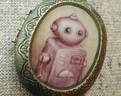 Antique Robot Locket...