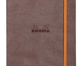 Rhodia Goalbook Chocolate - Dot Grid A5 Journal