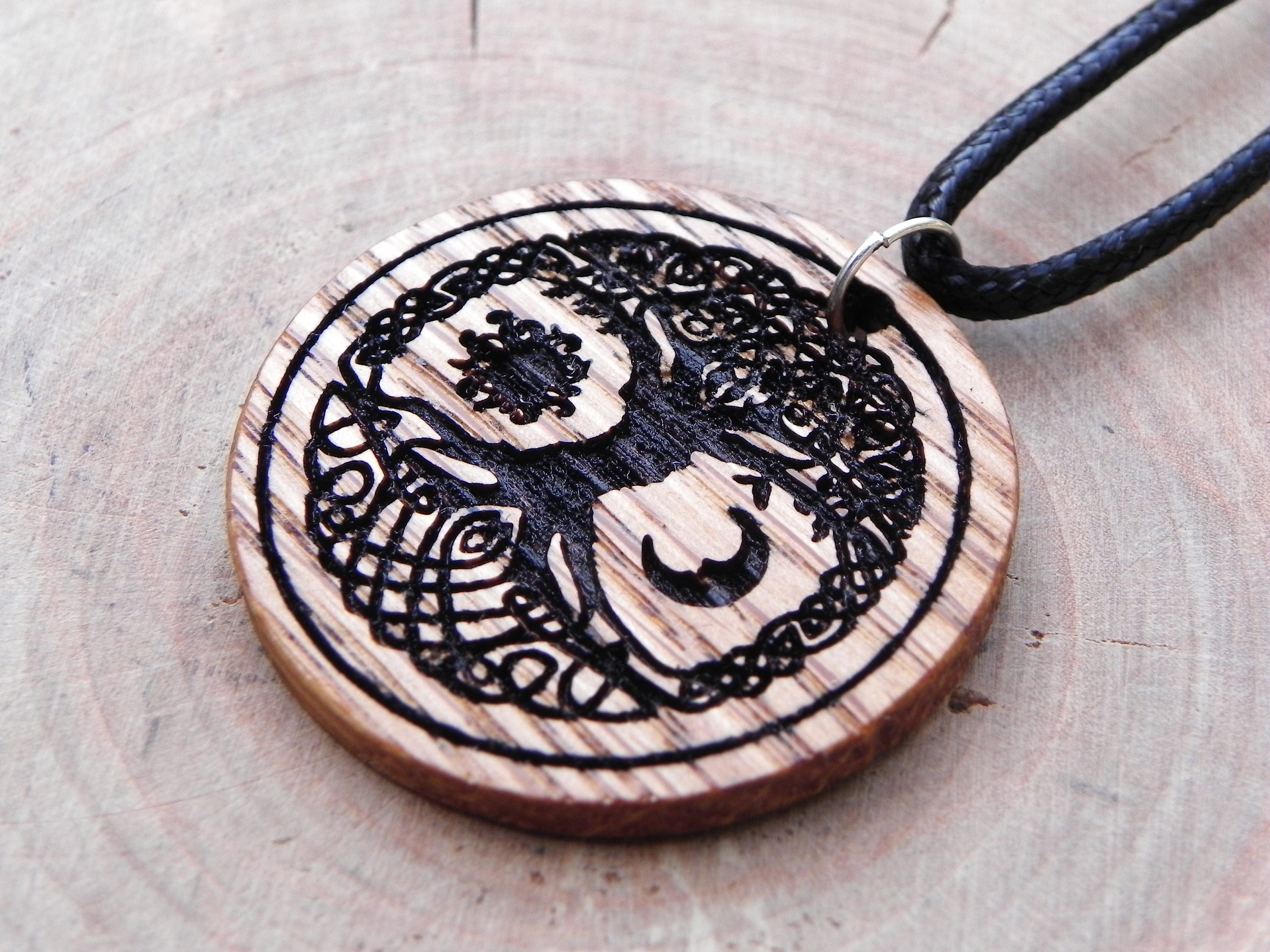 necklace nimzu pendant gourmet on img sun moon engraved