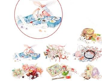 Japanese Style Washi Tape --Masking Washi Tape -Deco tape--30mm x10M