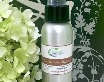 Coconut Lemongrass Aroma Mist