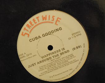 Cuba Gooding Happiness Is Just Around the Bend Record LP Album