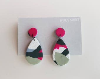 Polymer Clay Earrings #16