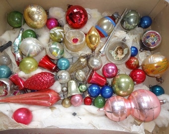 Christmas Ornaments Antique Vintage