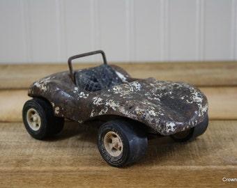 Tonka Dune Buggy - Vintage Toy Car - Aged - Rusty - Metal