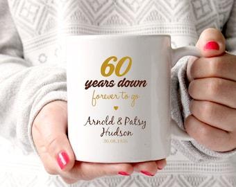 sixtieth wedding anniversary gifts