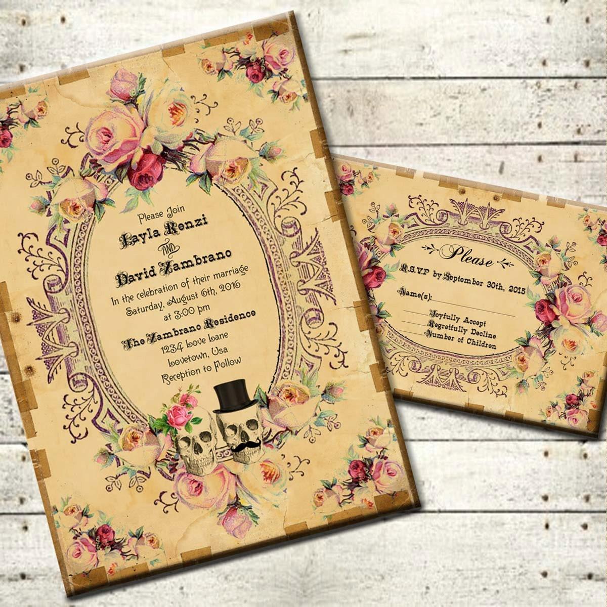 Antoinette Printable DIY Vintage Victorian Wedding