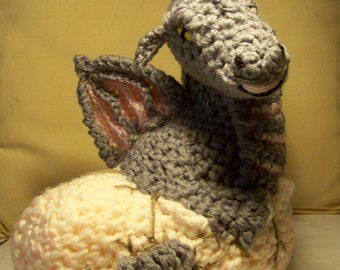 Baby Dragon Hatchling PDF Pattern Only