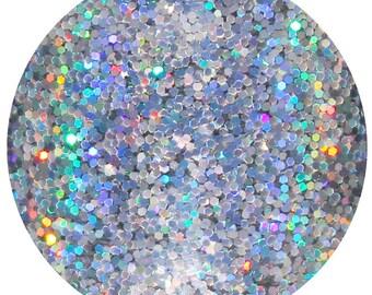 Billionaire Status | Silver Holographic Body, Face, Hair, Skin Glitter | Festival Glitter Makeup | Silver Holographic | Rave Glitter Mix