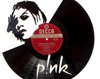Pink - Vinyl Record Art