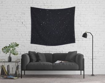 Star Tapestry | Night Tapestry | Tapestry Wall Hanging | Sky Tapestry | Space Wall Tapestry | Nature Tapestry | Black Tapestry | Star Decor