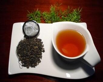 Loose Leaf Tea, Loose Leaf, Green Tea, Gunpowder Green Tea, Tea Blend, Loose Leaf Black Tea, All natural Tea, Caffeinated Tea
