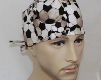 Men's Surgical Scrub Cap Soccer 61182