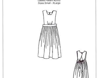 Ladies Jewel's Apron Sewing Pattern - by The King's Daughters - #2002