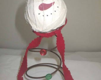 Vintage Bed Spring Snowman ~ Rustic Christmas ~ Farmhouse Decor ~ Bed Spring Tree