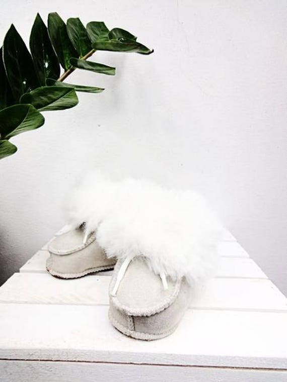 Real Leather Kids' Shoes. Sheepskin Unisex Kids' Slippers. Genuine Leather & Sheepskin Kids' Booties. Sheepskin Boots For Kids.