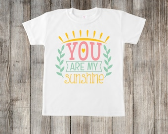 You Are My Sunshine Little Kids T-shirt or Baby Onesie