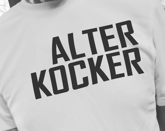 Jewish Humor T-Shirt - Alter Kocker