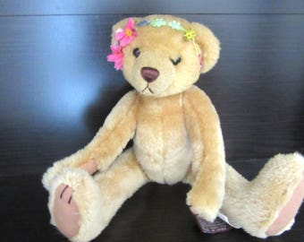 Pickford Bears Brass Button Collection 1960's Ivy Flower Child